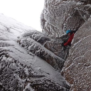 George North Winter Climbing