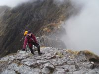 Scrambling in Glen Coe May 2011