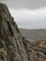 Weekend rock climbing meets